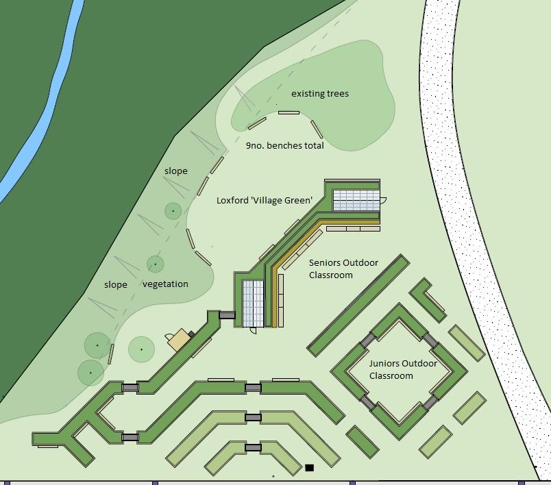 Loxford classroom map