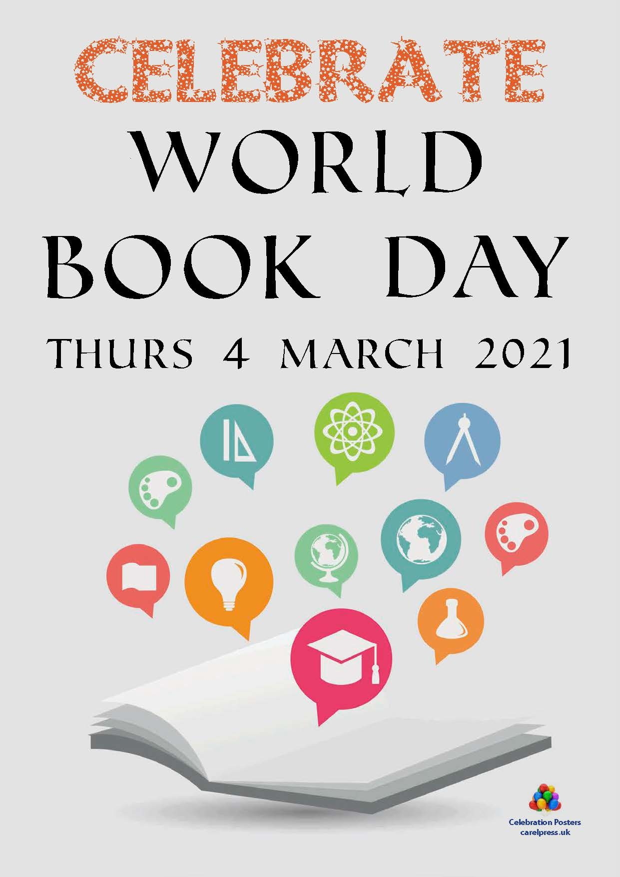 PCL330 World Book Day 4 March 2021